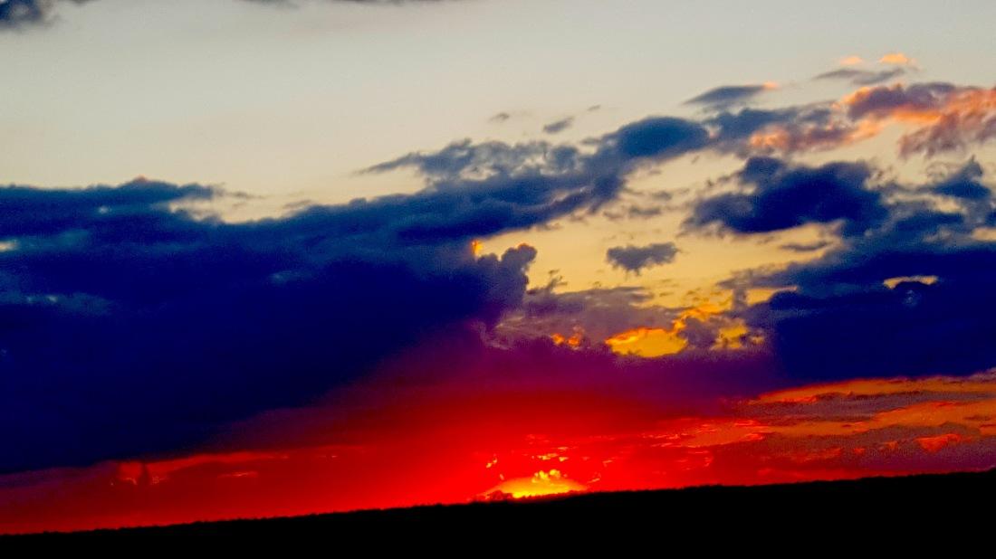 sunset cuppa
